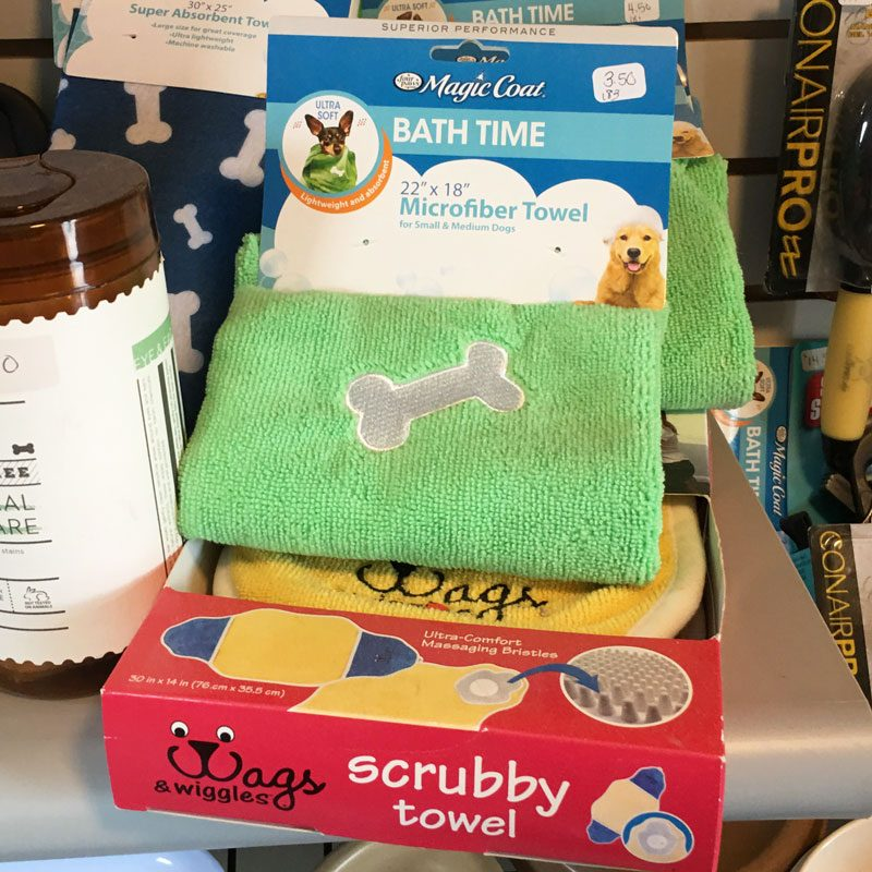 Pet Supplies - Bath Towels